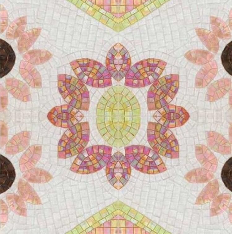 Beautiful Mosaic Pattern by Mosaics Lab