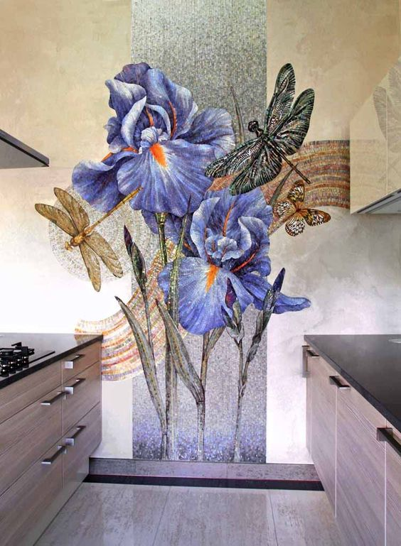 Beautiful Kitchen Mosaic Backsplash