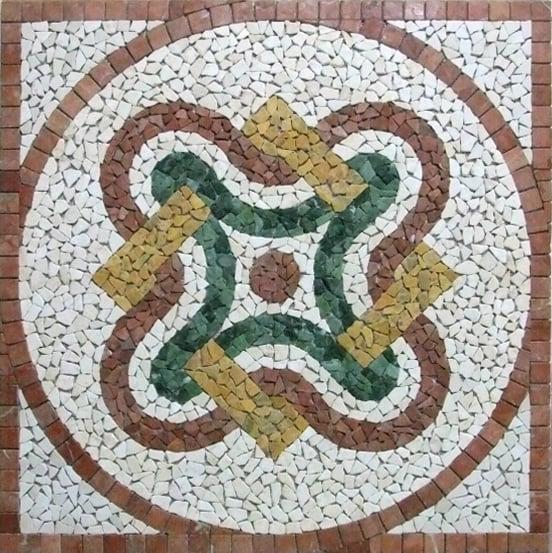 Gorgeous Mosaic pattern by Mosaics Lab