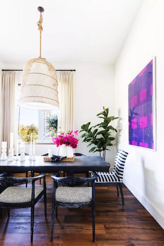 Vibrant and modern home interiors
