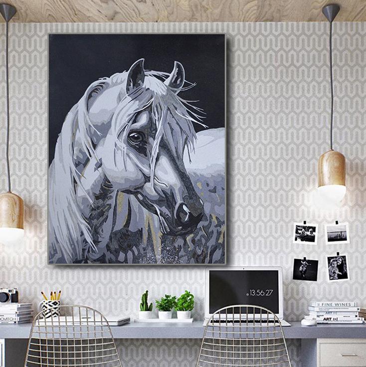 Beautiful Horse Mosaic Artwork by Mosaics Lab