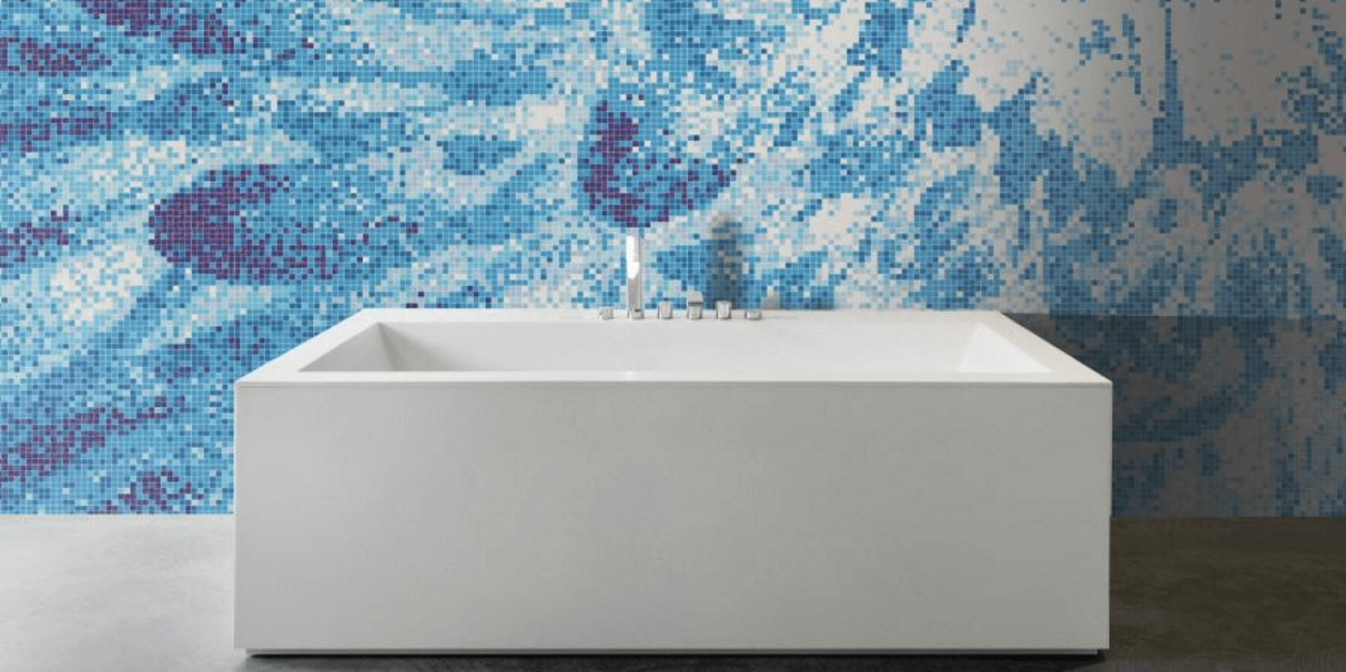 Mosaic bathroom and designs