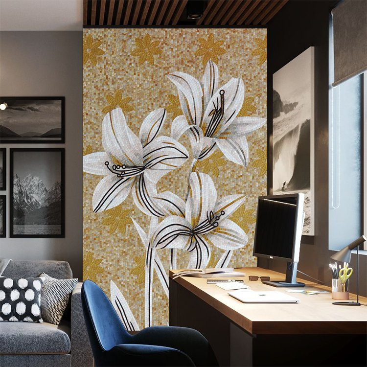 Handmade Mosaic Mural Design by Mosaics Lab