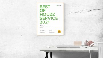 Mosaics Lab Awarded Best of Houzz Award