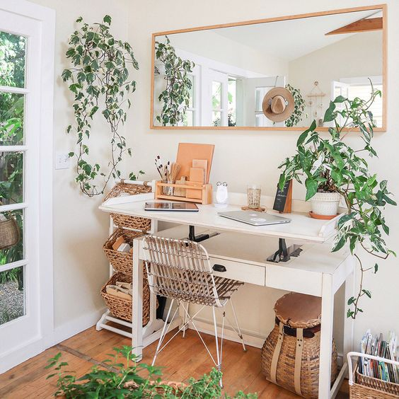 Home Office Design and Mural