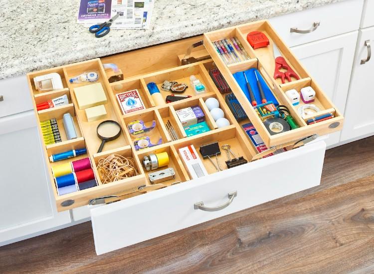 Kitchen drawer and Kitchen designs at Kibis 2021