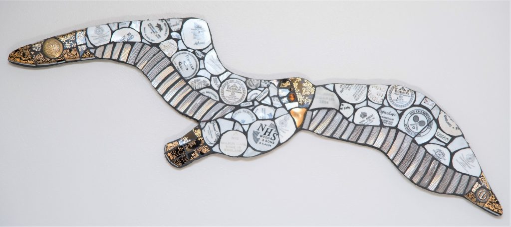 Mosaic Design Mural by Anne Schwegmann-Fielding