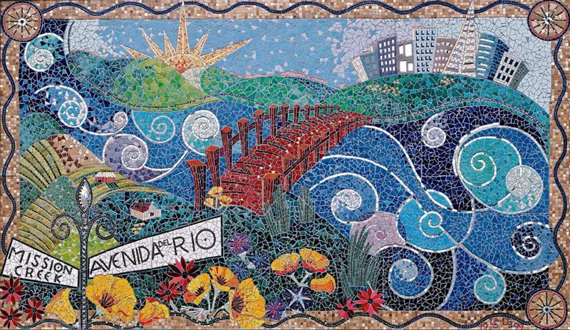Contemporary Mosaic Art by Laurel True