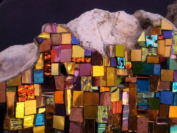 Contemporary Mosaic Design by Laurel True