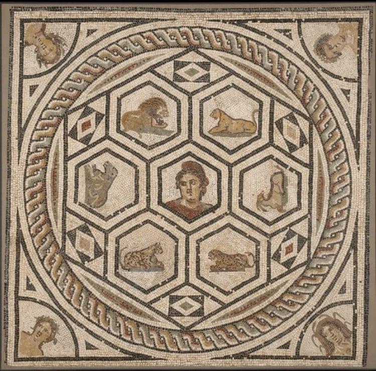 Roman Mosaic Artwork, Mosaic Designs, Mosaic Mural