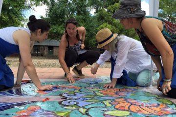 Mosaic Artist Laurel True