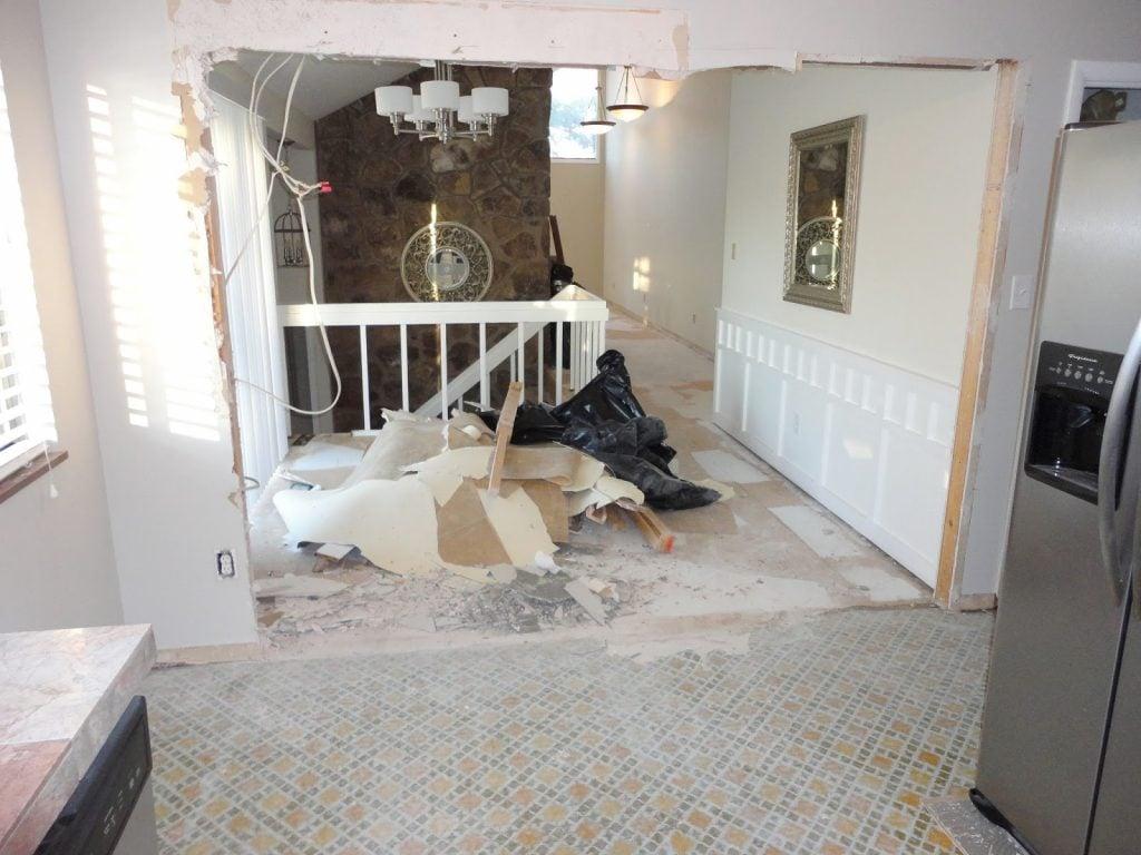 Floor interiors repair