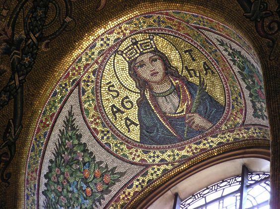 Westminster Chapel Mosaic Piece. Mosaic Art Destination.