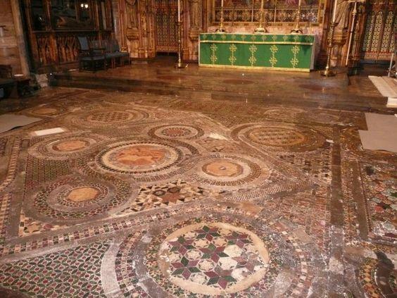 Beautiful Pavement Mosaic. Mosaic Art Destination.
