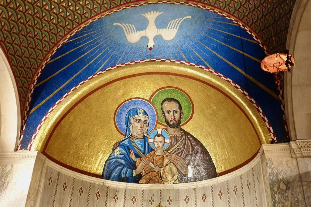 Mosaic Artworks in the Chapel of Westminster Cathedral, UK