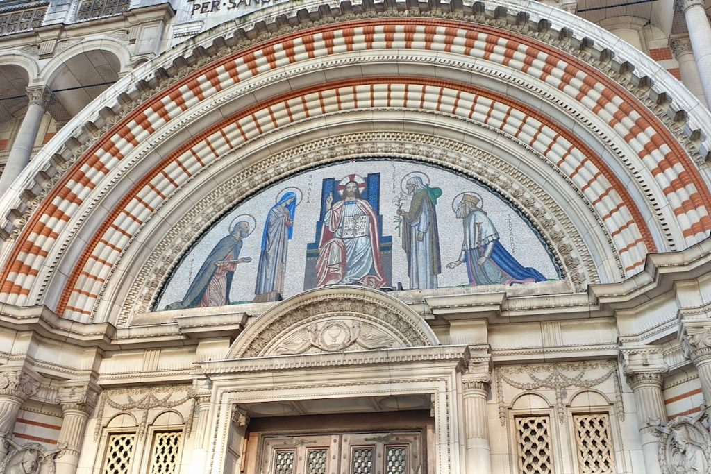 Westminster Cathedral Mosaic Artwork
