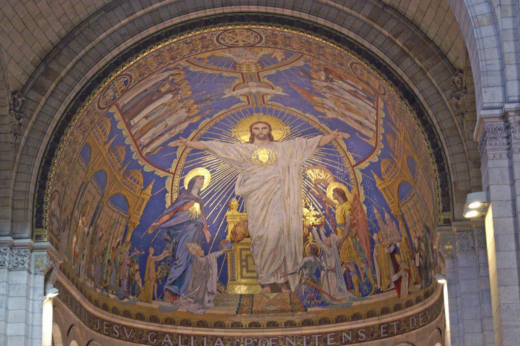 Basilica of Sacre Coeur, France