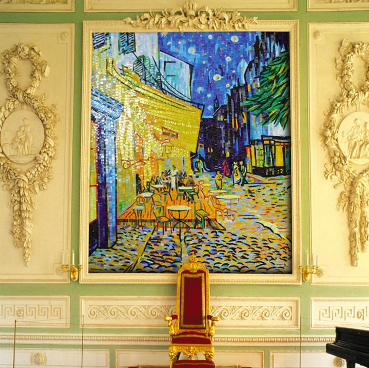 Vincent Van Gogh Mosaic Reproduction