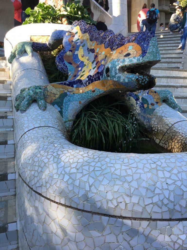 Park Guell Mosaic Artworks
