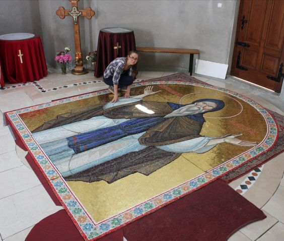 Vasilisa Janojkic Mosaic Artwork