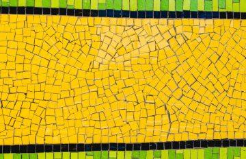 Yellow Mosaic Designs