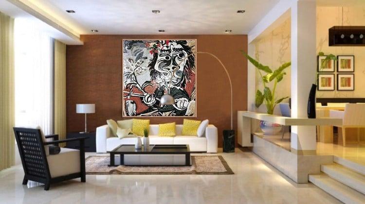 Abstract Mosaic Artwork by Mosaics Lab