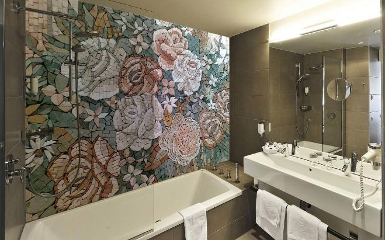 Backsplash Bathroom Mosaic and Bathroom Mosaic Mural
