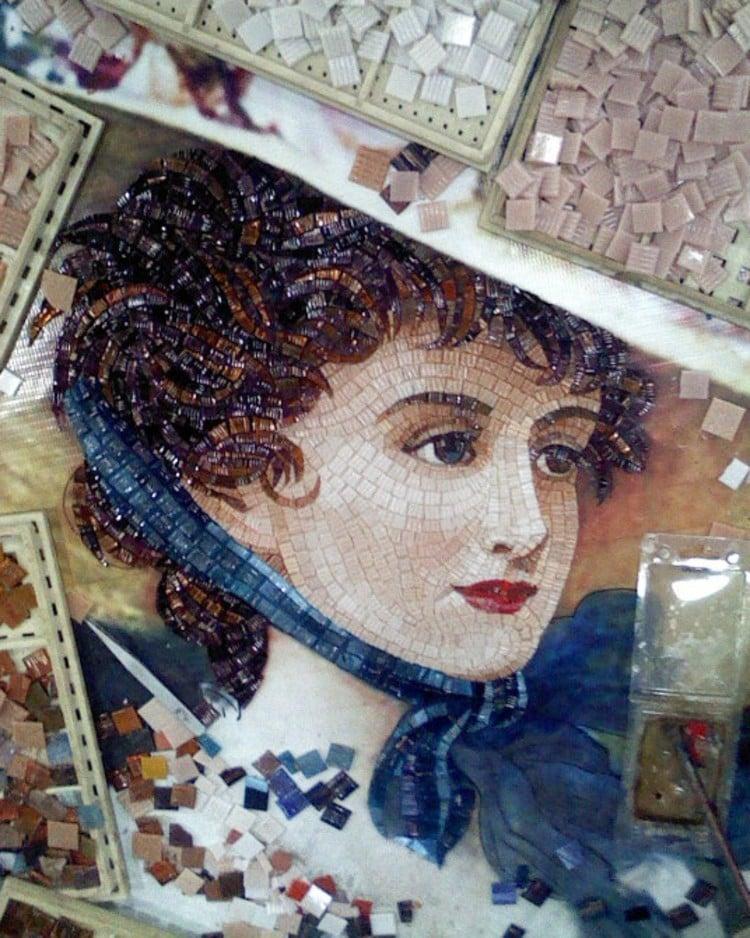 Mosaic Work in Progress