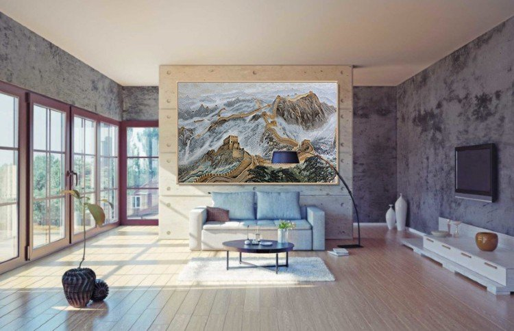 Mosaic Mural and handmade Mosaic Artwork