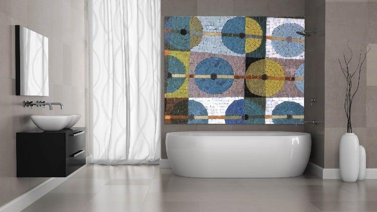 Contemporary Mosaic Artwork and design