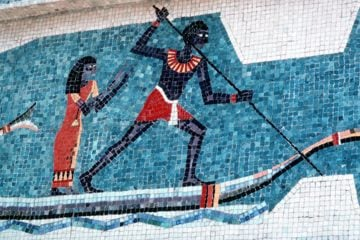 Egyptian Mosaic Artwork