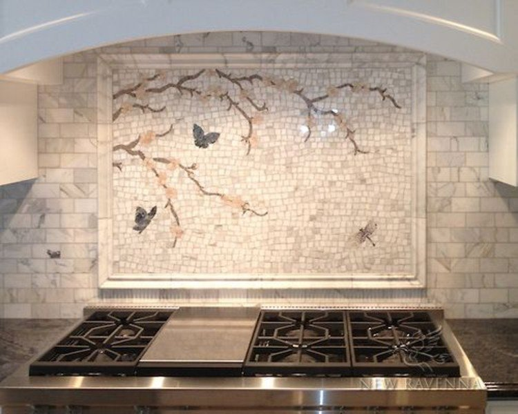 Kitchen Mosaic Backsplash Designs