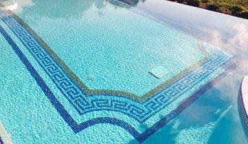Pool mosaic designs