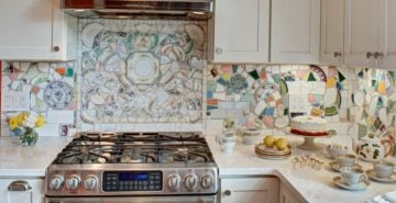 Kitchen Mosaic Artwork and Designs