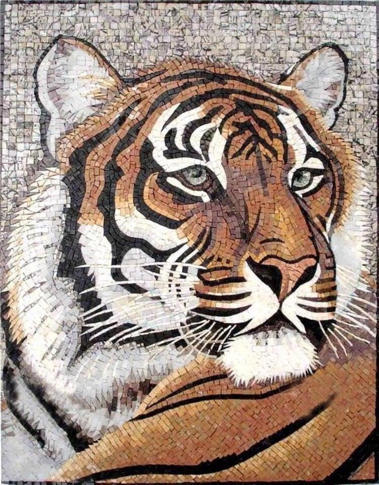 Tiger Mosaic Designs
