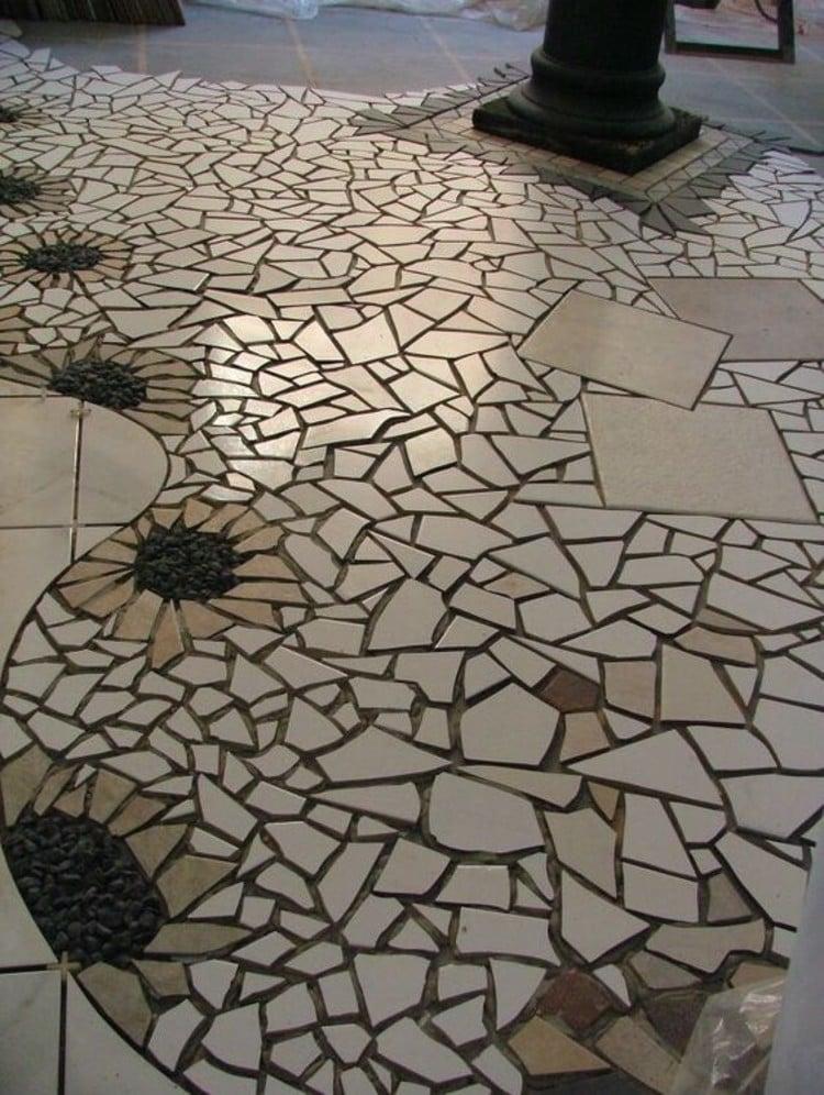 Floor Mosaic Design