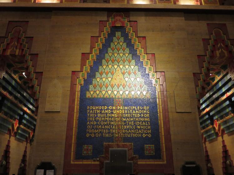 Guard Building Mosaic Artwork