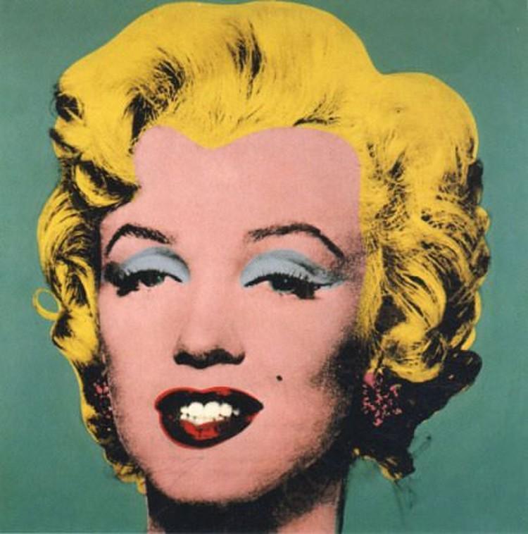 Marilyn Monroe by Andy Warhol