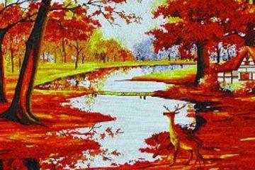 Wall Mosaic Designs, Mosaic Artworks, Fall Mosaic Art