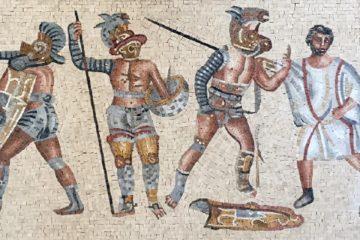 Roman Mosaic Artwork and designs