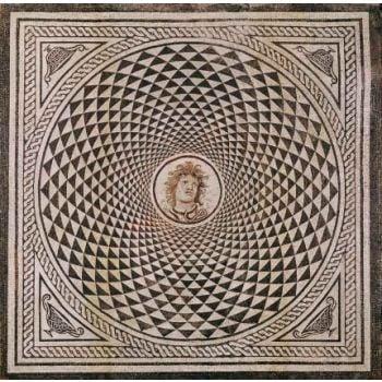 Hypnotizing God Marble Mosaic Design