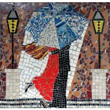 Amor em Lisboa Mosaic Design