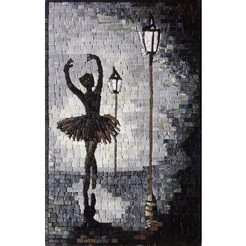 Street Dancer Mosaic Design