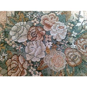 Bridal Bouquet Mosaic Artwork
