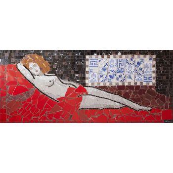 Ode to Titian Mosaic Art