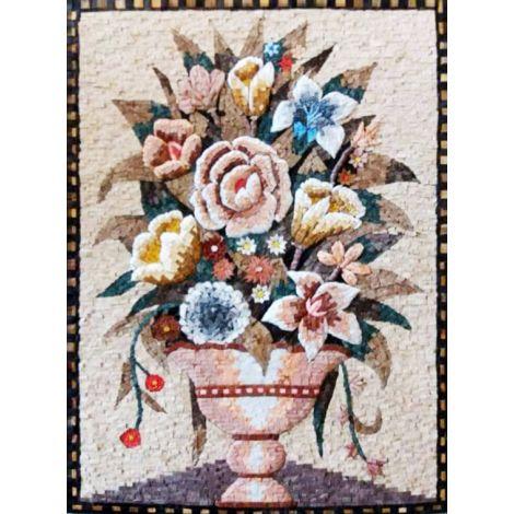 Needlepoint Bouquet Mosaic Art