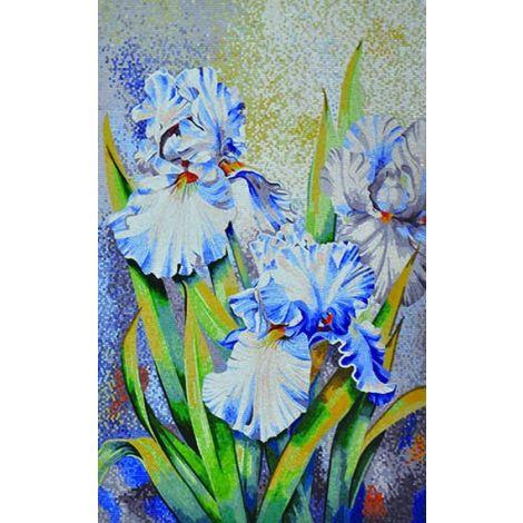 Blue Magicians Mosaic Tiles