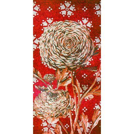 Passion Flower Mosaic Art