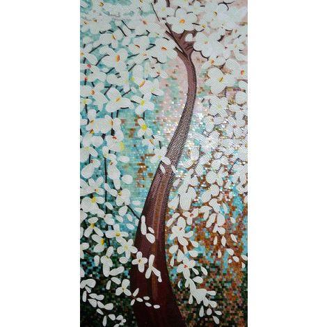 Tree of Brightness Mosaic Artwork