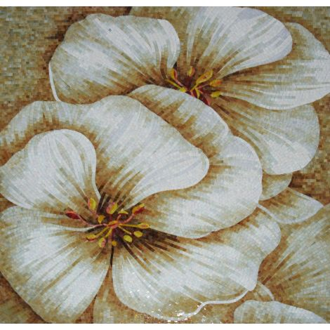 Apple Blossoms Mosaic Decor